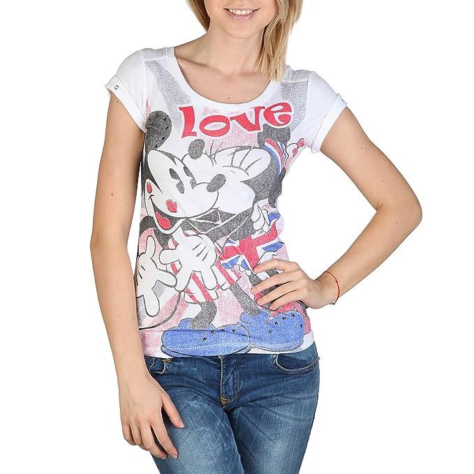 Camiseta Alcott TS7115DO C099 blanquecino - mujer - M: Amazon.es: Ropa y accesorios