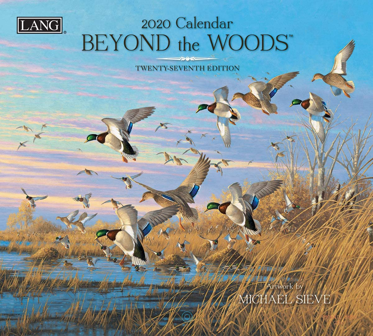 Lang Beyond The Woods 2020 Wall Calendar (20991001894)