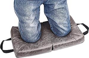 Safoner Extra Thick Garden Memory Foam Kneeling Cushion Mat for Work Gardening, Folding Bath Kneeler Pad