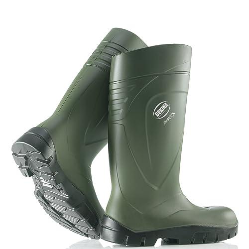 Bekina StepliteX Steel Toe Cap   Midsole Polyurethane Wellington Boots -  Green - Size ... 49ee57dc3b31