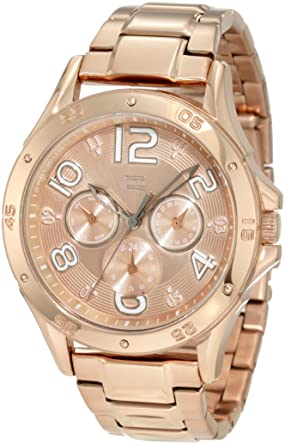 Tommy Hilfiger Womens 1781171 Sport Rose Gold Sport Bracelet Watch