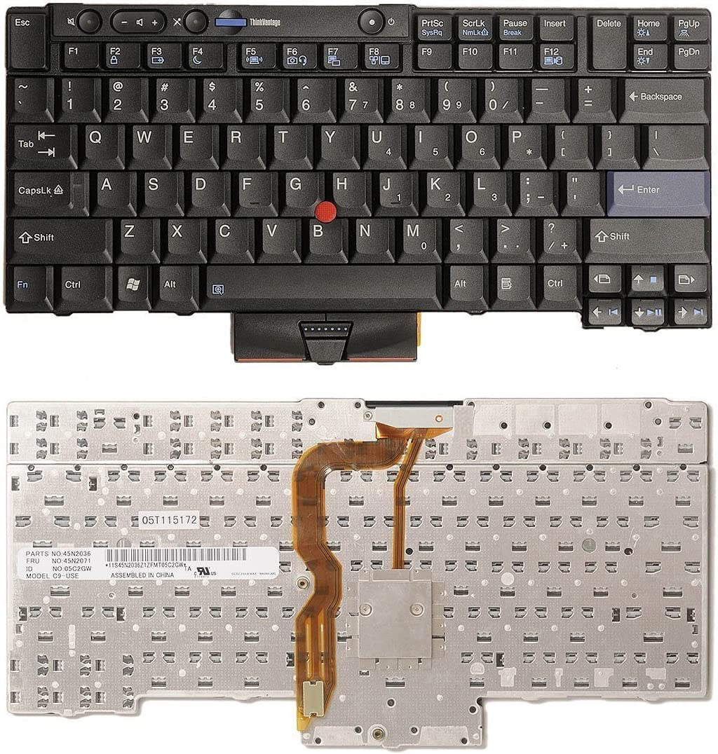 aGood US Layout Laptop Keyboard For Lenovo Thinkpad T520 T520i T420 T420i T420S W520 X220T X220s X220i X220 Competible 45N2036 45N2071 45N2106 45N2141 45N2176 45N2211 04W2753 0B35709 C989 C9-89US