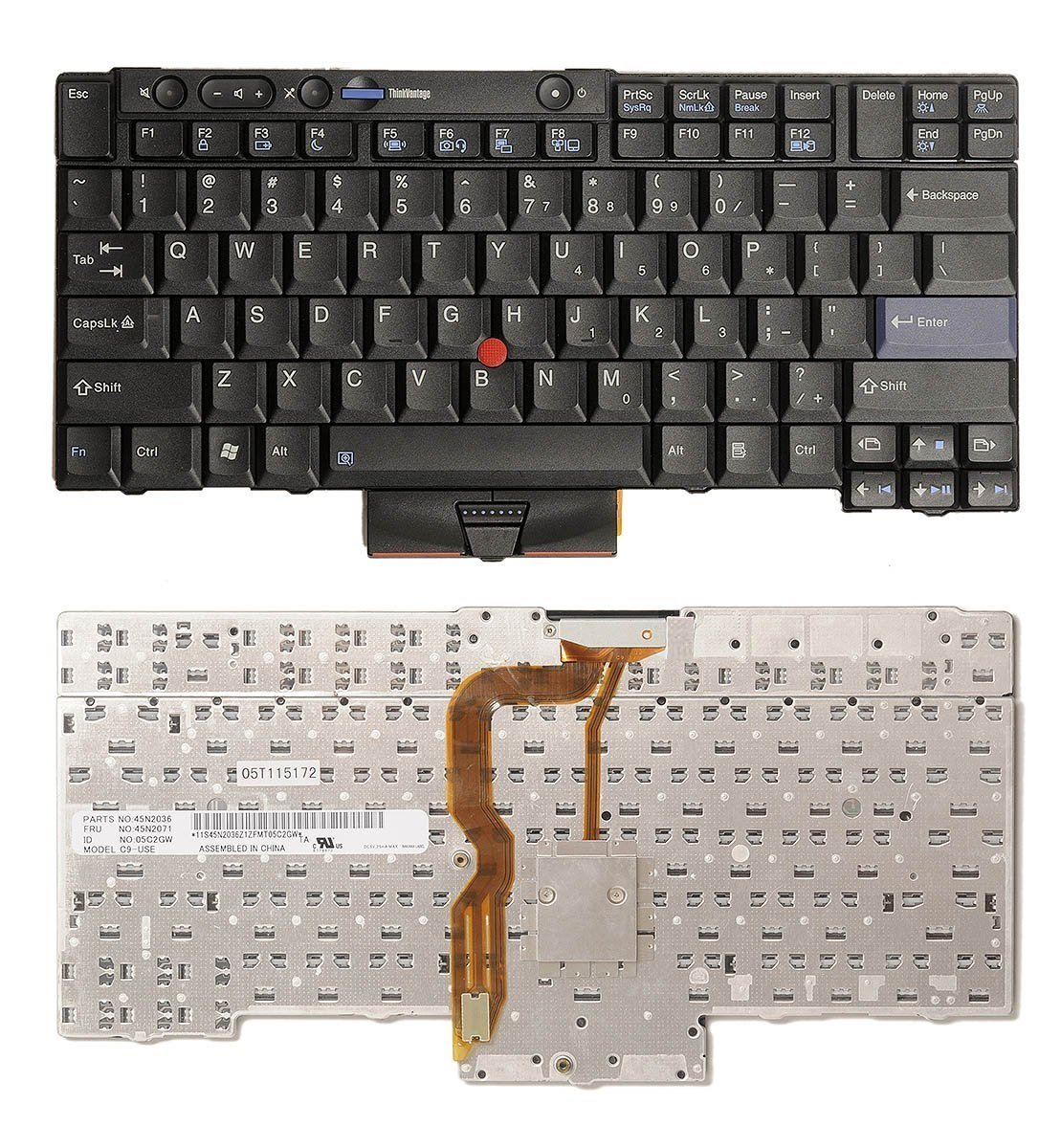 US Layout Replacement Keyboard for Lenovo Thinkpad X220 X220i X220s X220T