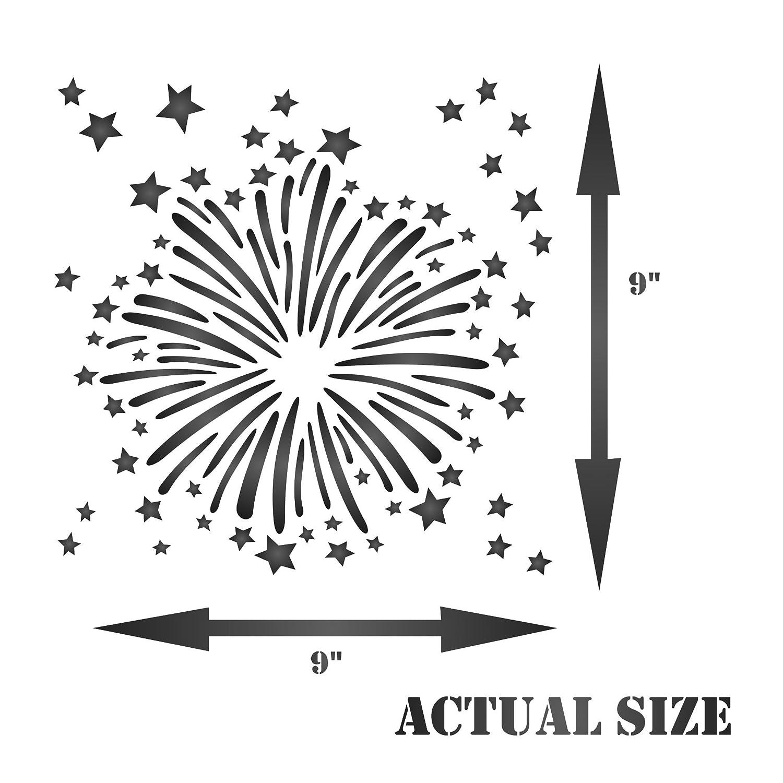 fireworks stencils - Ideal.vistalist.co
