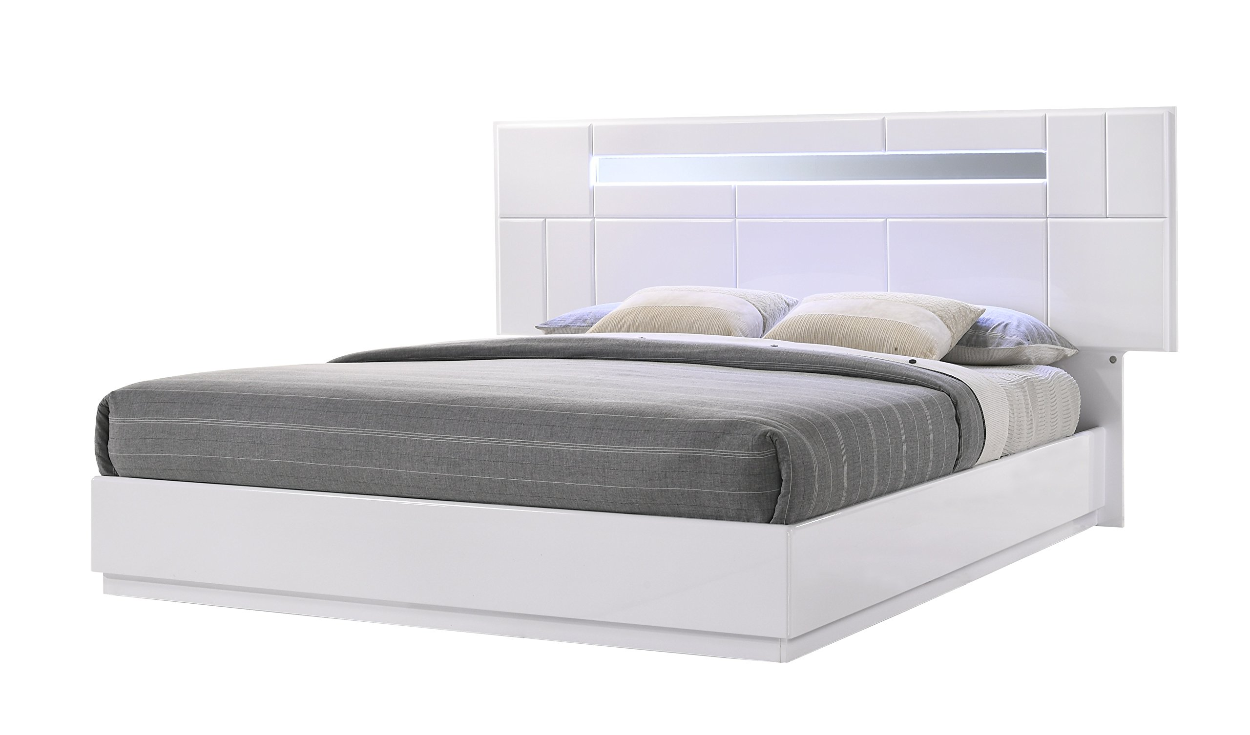 J and M Furniture Palermo Bed, King by J&M Furniture