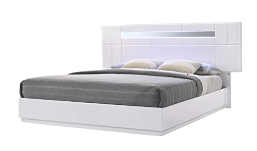 J and M Furniture Palermo Bed, King
