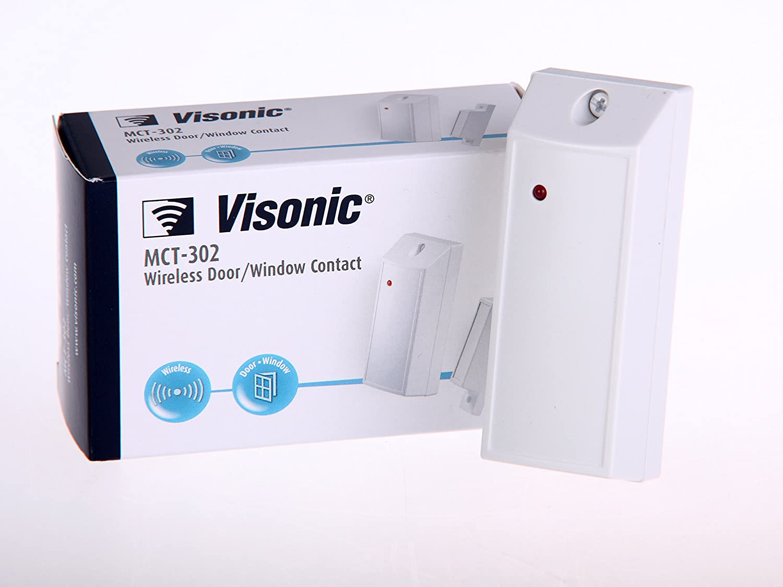 CONTACTO MAGNETICO CON ENTRADA AUXILIAR VISONIC POWERMAX MCT-302: Amazon.es: Electrónica