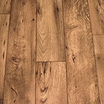PVC Bodenbelag Holz Rustikal Dunkel Breite M P M² - Pvc boden wie holz