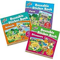 Galt Toys 1005212 Sticker Book Bundle, Multi