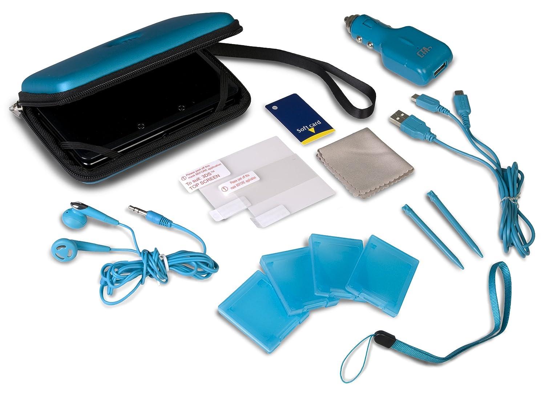 Nintendo 3DS 12 in 1 Adventure Pack - Blue