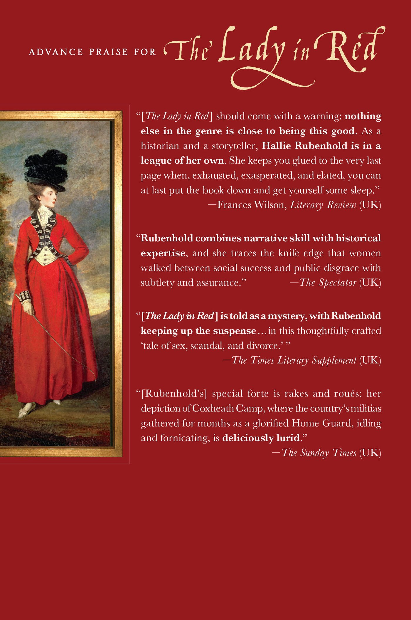 The lady in red an eighteenth century tale of sex scandal and the lady in red an eighteenth century tale of sex scandal and divorce hallie rubenhold 9780312359942 amazon books solutioingenieria Choice Image