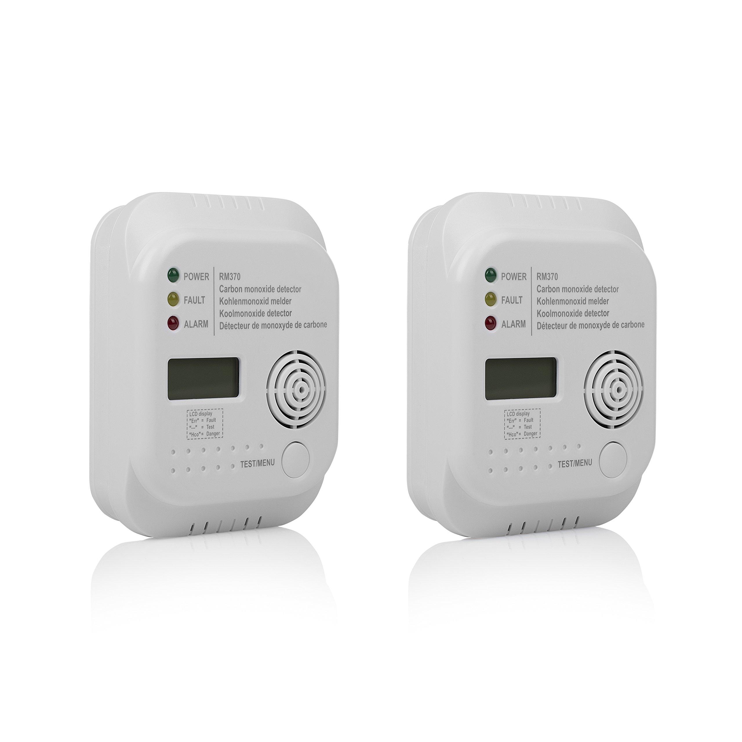 Smartwares 10.100.77 Detector de Monóxido de Carbono, 4.5 V, Blanco, 2