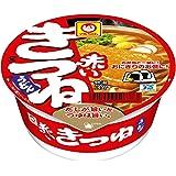 (訳あり)賞味期限:2019/03/25 マルちゃん赤いまめきつねうどん(東)41g×3個×4セット