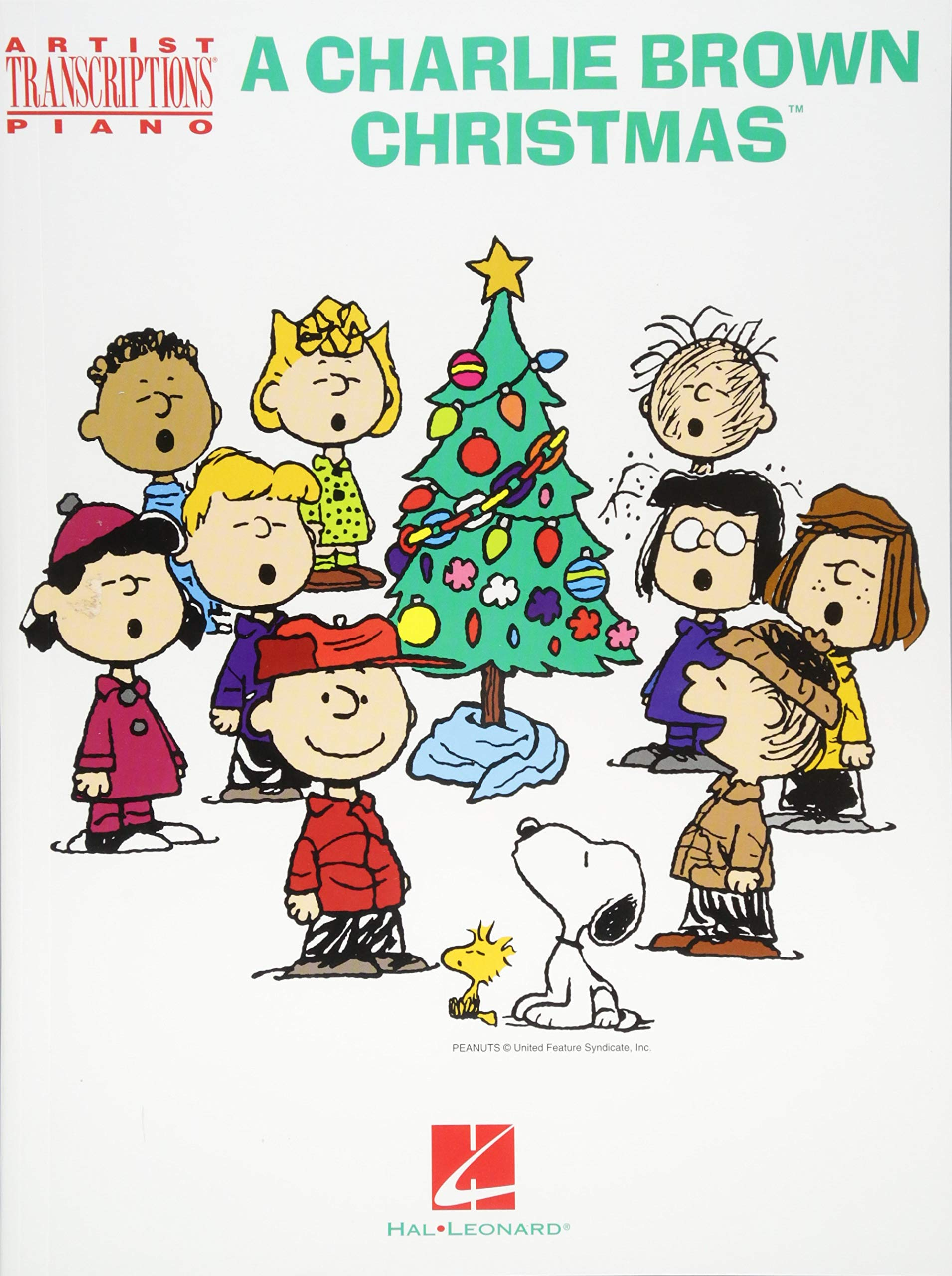 A Charlie Brown Christmas Artist Transcriptions For Piano Vince