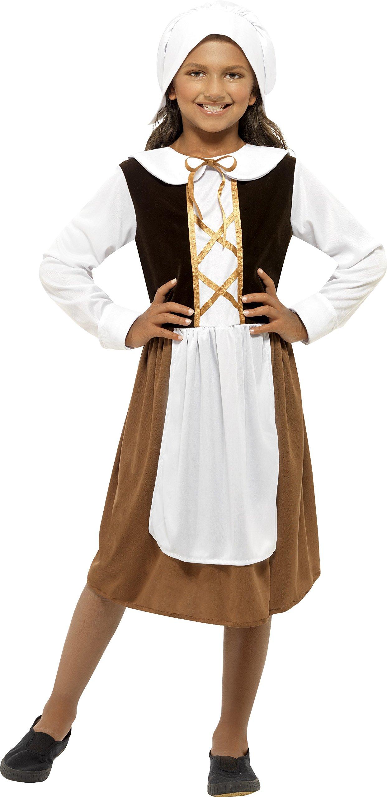 White tudor apron - Size