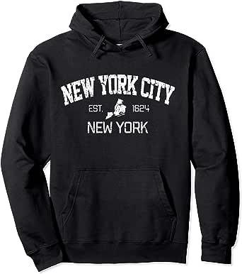 Brooklyn New York Vacation State Proud NY City Mens Black Sweatshirt