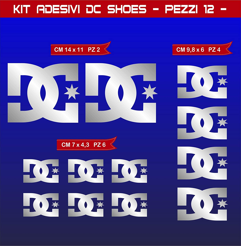 Cod Pimastickerslab Aufkleber Stickers DC Shoes DCSHOES Motorrad 0574