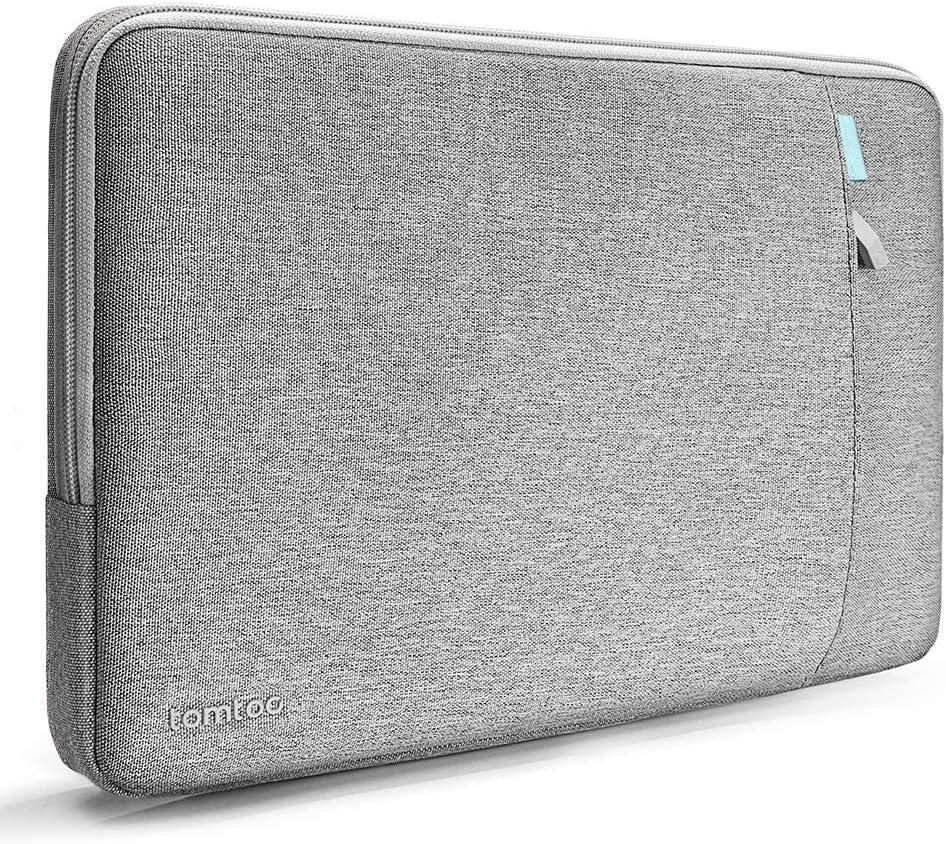 tomtoc Housse Ordinateur Portable pour 15 Pouces Nouveau MacBook Pro Retina2016 late-2018 A1990//A1707 Sacoche pour Tablettes Thinkpad Chromebook DE 14 Pouces,