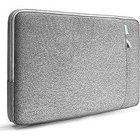 tomtoc Laptop Tasche Hülle kompatibel mit 2019 Neu MacBook Air 13,3 Zoll Modell A1932, Neu MacBook Pro 13 A2159 A1989 A1706 A1708, Dell XPS 13 Tragetasche Asus Chromebook Flip C302 12.5 Grau