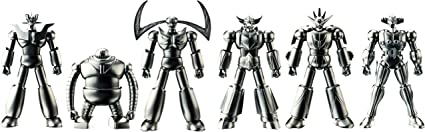 Absolute Chogokin Metal Mini Statue GREAT MAZINGER MAZINGER Z BANDAI