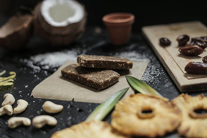 Barrita Energética de Proteínas SENS con harina de grillos - deliciosa, sin azúcares añadidos, ingredientes sin aditivos (12 x 50g): Piña & Coco: Amazon.es: ...
