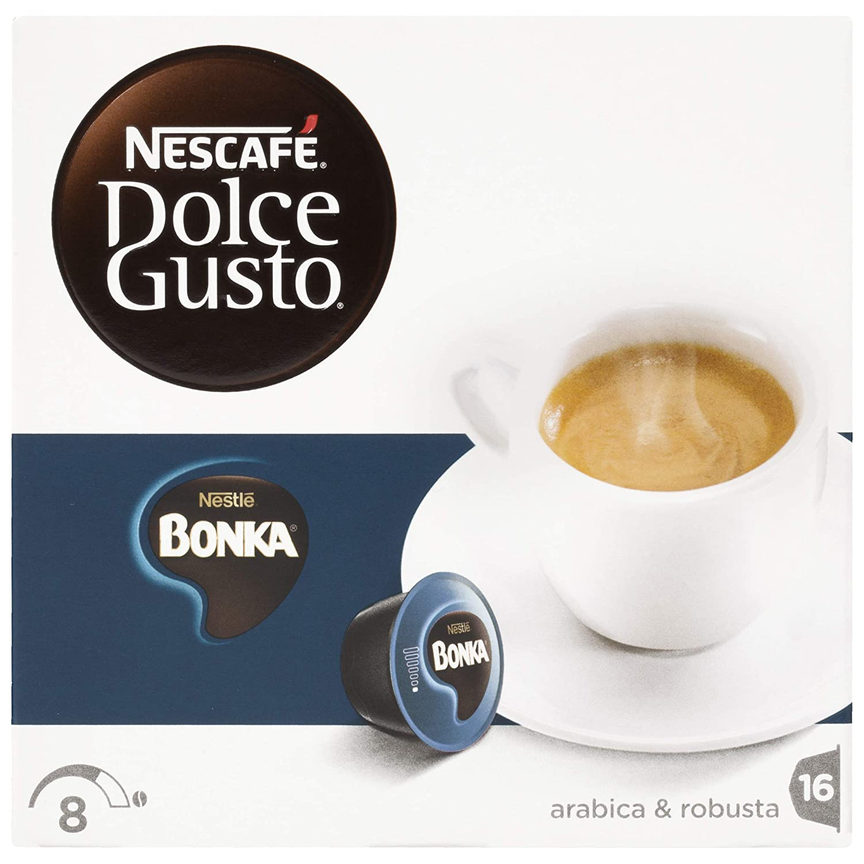 Amazon.com : Nescafé Dolce Gusto Bonka Espresso, 16 Kapseln, 3er Pack (3 x 112 g) : Coffee : Grocery & Gourmet Food