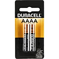 DURACELL SPECIALTY ALKALINE AAAA BATTERIES 1,5V, Pack of 2