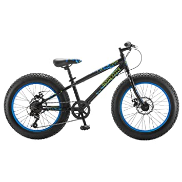 Mongoose Pug 20 Wheel Boy S Fat Tire Bicycle Black