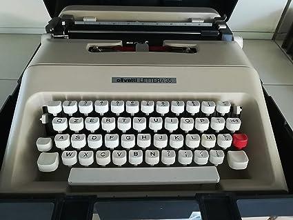 Olivetti Máquina de Escribir Letra 35