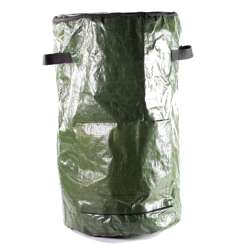 Compostador – Cubo de cocina para restos – verde, mediano, 59 cm: Amazon.es: Jardín