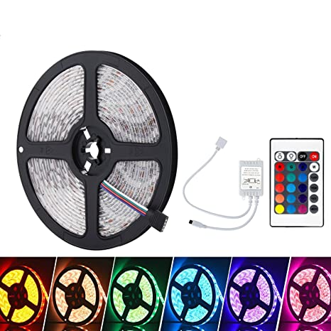 Lights & Lighting Good 5m 5050 Rgb Led Strip Light Dc 12v 300 Leds Ip65 Waterproof Led Flexible Ribbon Tape Lamp Rgbw Rgbww For Hdtv Screen Decor With The Most Up-To-Date Equipment And Techniques Led Lighting