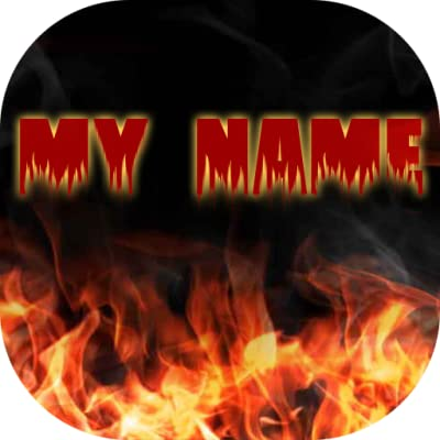 Amazon My Name Fire Live Wallpaper Appstore For Android