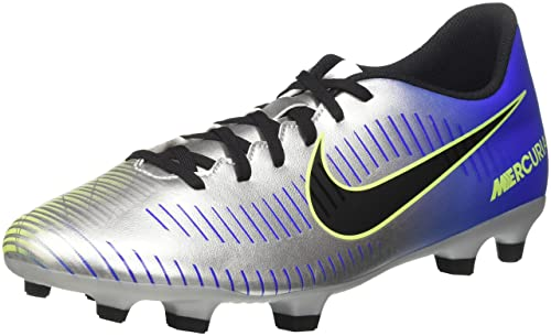 a97dd8397 Nike Men s s Mercurial Vortex Iii NJR Fg Footbal Shoes Multicolor (Racer  Blue Black-