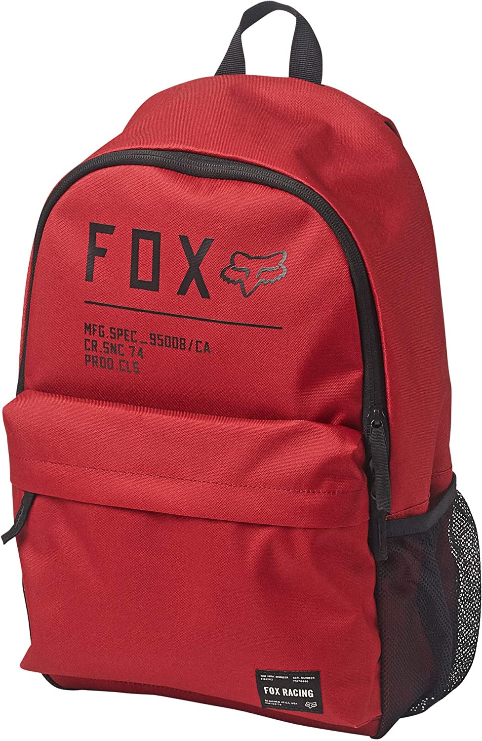 Fox Racing Men's Non Stop Legacy Backpacks,One Size,Chili