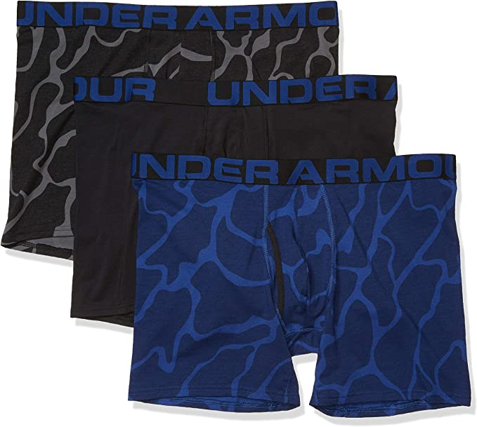 Under Armour Charged Boxer 6 in 3er Pack Rouge f600
