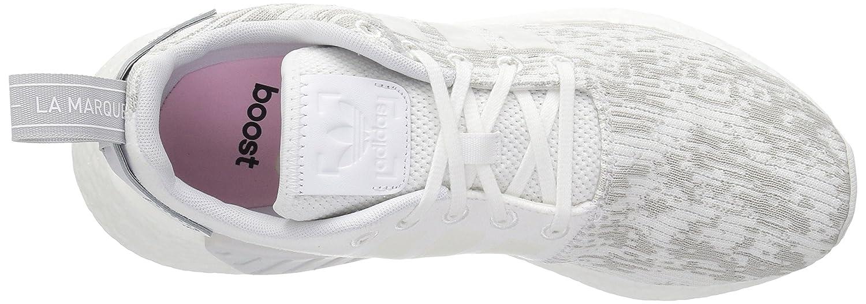 adidas Originals Women's NMD_r2 W Sneaker B01N1SDJKP 9 B(M) US|White/White/Grey Two