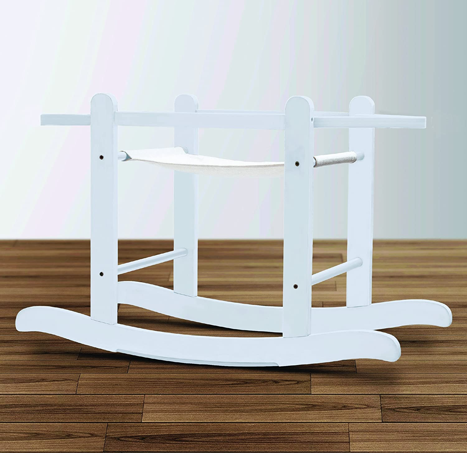 Deluxe Little Gem White Rocking Stand Kinder valley