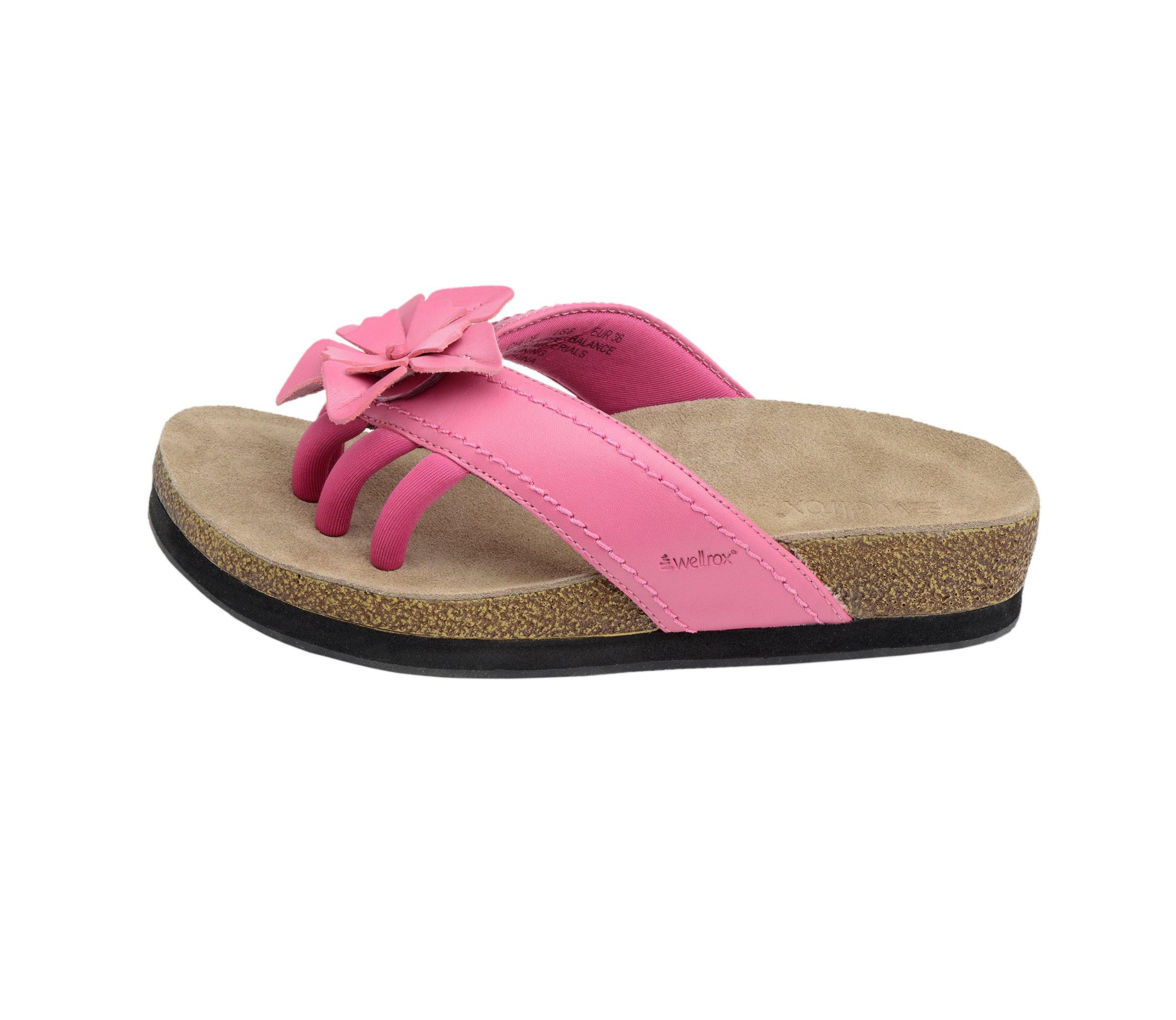 Wellrox Women's Terra-Chloe Hot Pink Casual Sandal 11 by Wellrox (Image #2)