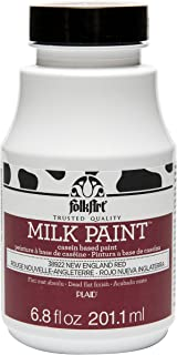 product image for FolkArt Milk Paint in Assorted Colors (6.8 oz), 38922 New England Red