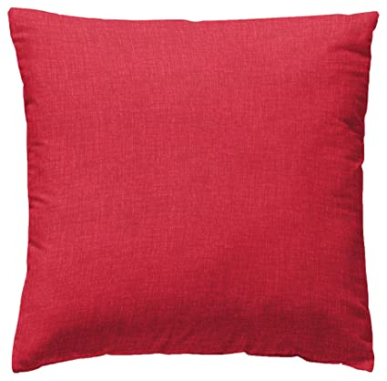 Martina Home Levante Funda de Cojín, Tela, Rojo, 50 x 50 cm