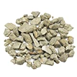 """JOVIVI 58g-68g Iron Pyrite Rough Rocks Mineral Gemstones - Small 0.12"""" to 0.47"""" Average - Raw Natural Stones for Arts, Crafts, Tumbling, Gold Mining Activities, Party Favors, Reiki Crystal Healing"""