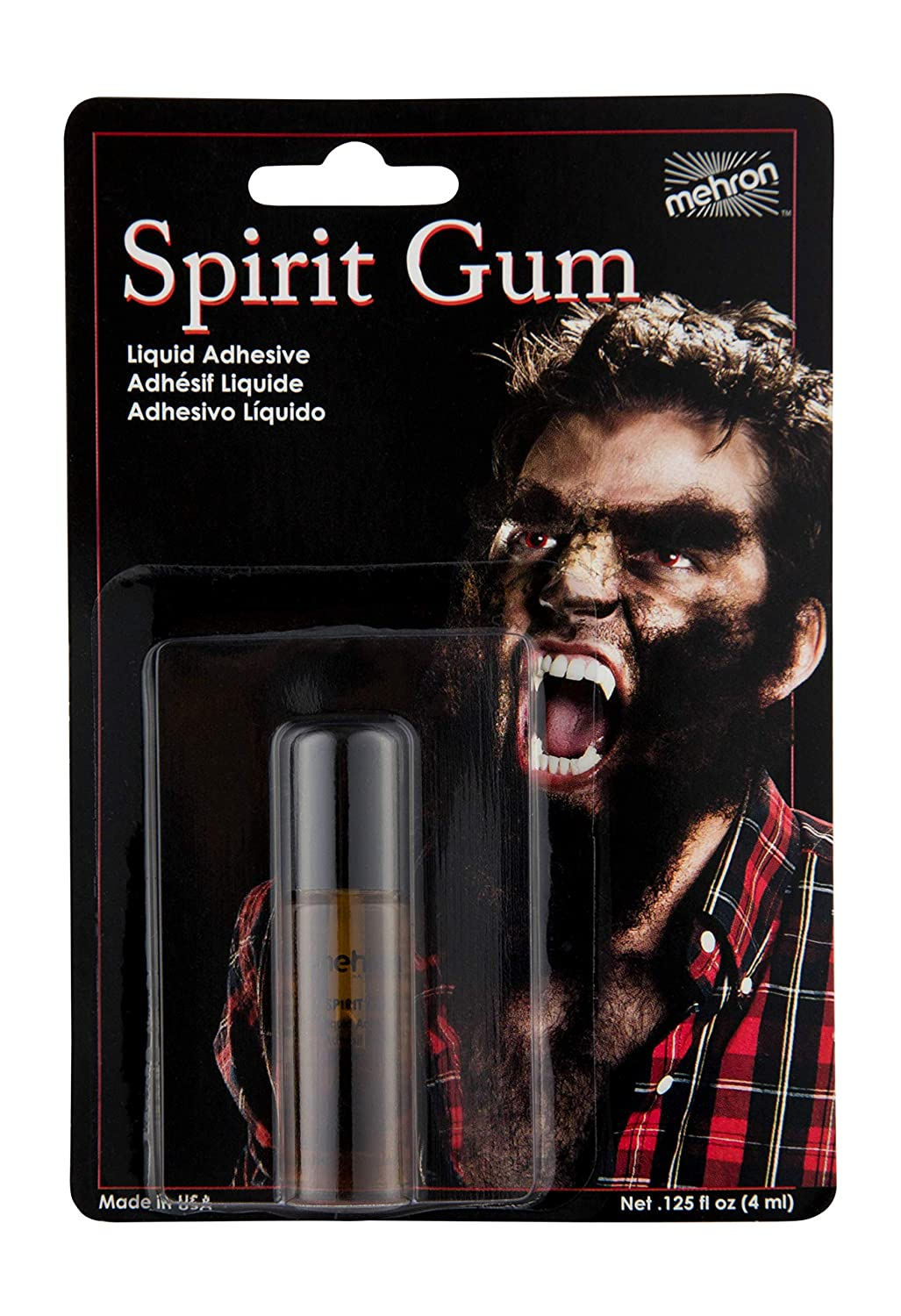 118 Mehron Spirit Gum Liquid Adhesive (Available in Many Sizes)