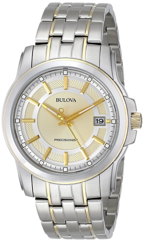 Amazon.com: Bulova Men's 98B156 Precisionist Champagne dial Watch: Bulova:  Watches