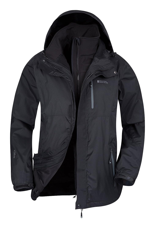 Mountain Warehouse OUTERWEAR メンズ ブラック XX-Large XX-Largeブラック B009GH70BA
