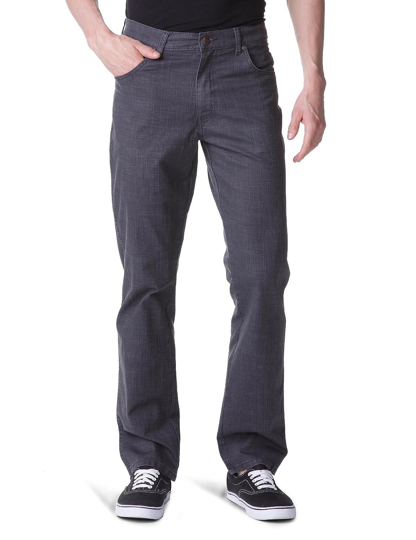 TALLA 31W / 32L. Wrangler Texas Stretch Black Pantalones para Hombre