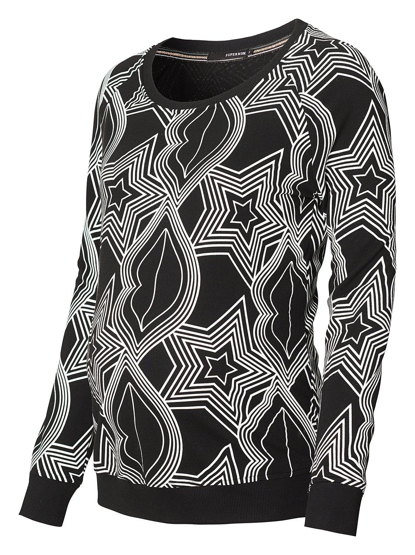 SUPERMOM Vêtements de Grossesse Female T-Shirt Manches Longues