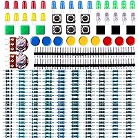 ELEGOO Pack de Composants Electronique avec Résistances, LEDs (Del), Switch, Potentiometre pour Arduino UNO Mega 2560 Raspberry Pi