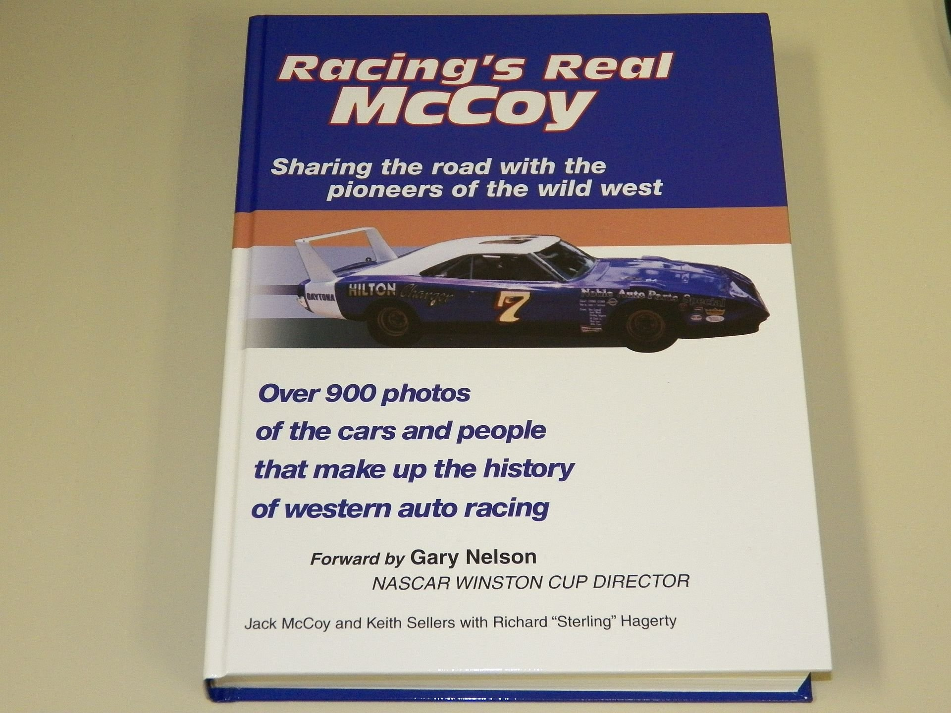 Read Online Racing's real McCoy: Sharing the road with the pioneers of the Wild West pdf