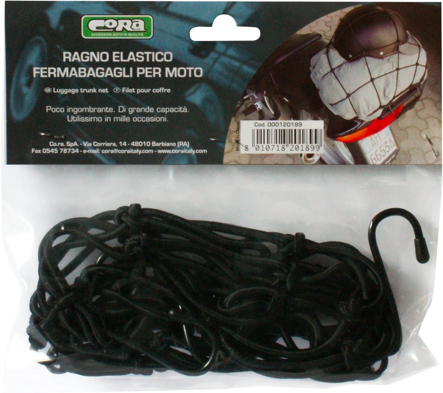 Black Cora 000120189 Motorbike Cargo Net