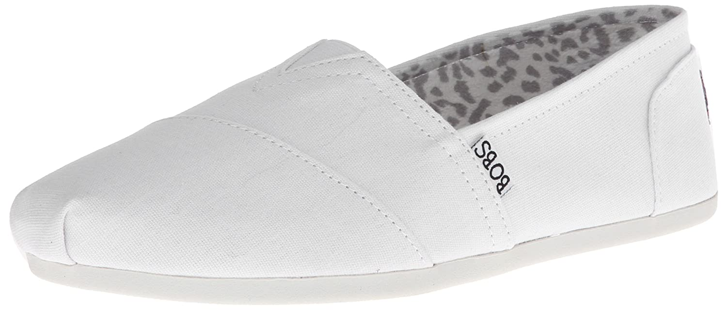 Skechers BOBS from Women's Bobs Plush-Peace and Love B01MQGT70S 8.5 W US|White